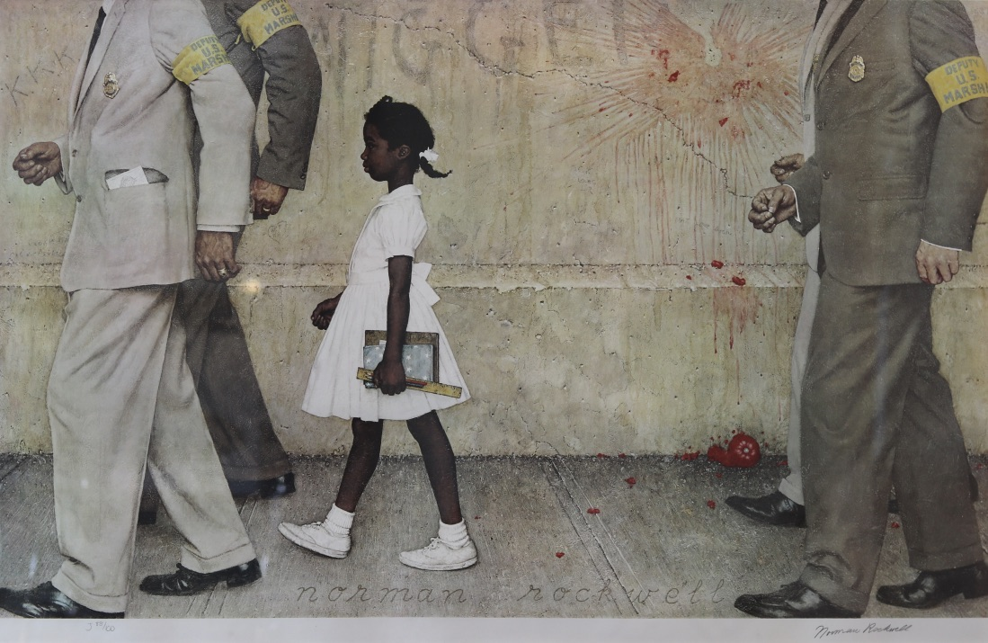 The Problem We All Live With Ruby Bridges Aaron Galleries